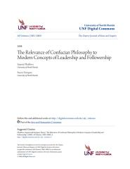 The Relevance of Confucian Philosophy to Modern Concepts of Leade (1).pdf