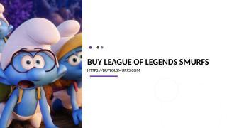 buy league of legends smurfs.ppt