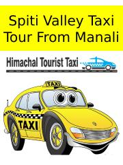 Spiti Valley Taxi Tour From Manali ppt.pptx