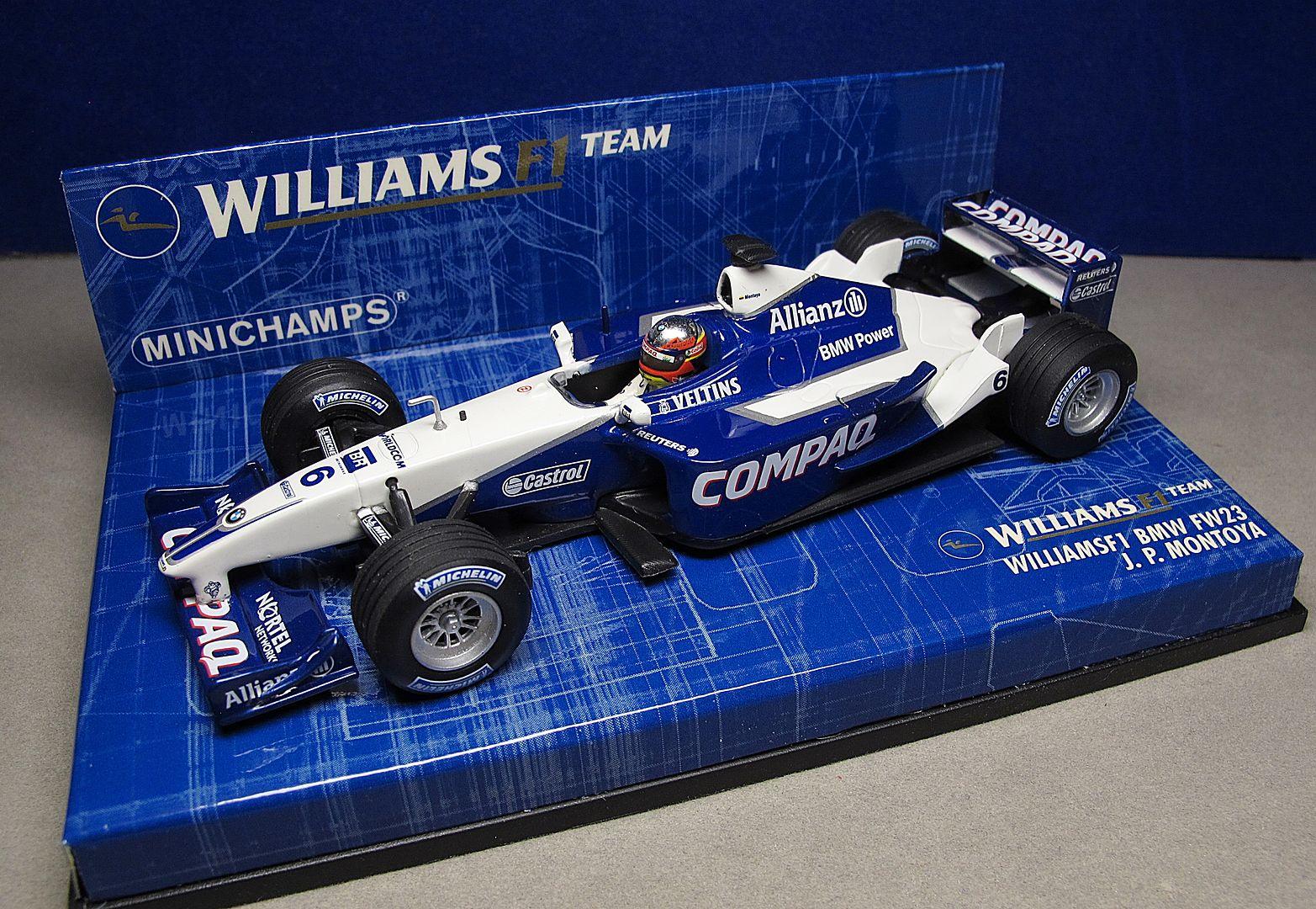 Formula 1 №20 - Williams FW23 Ральф Шумахер (2001)