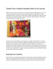 Love Your Creative Fantasies With an Art Journal.pdf